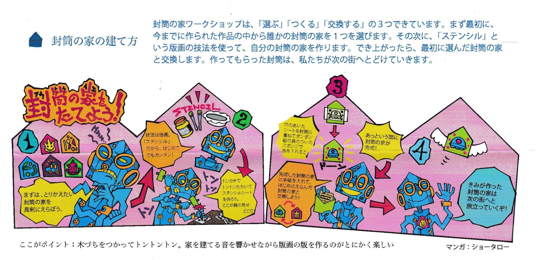 封筒の家の建て方